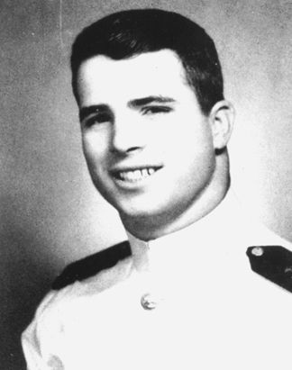 Capt. John S. McCain III, U.S. Navy 1958-81 Vietnam War. A 1958 graduate of the U.S. Naval Academy, McCain served as an A-4 Skyhawk pilot, was shot down over N. Vietnam on his 23rd mission, and was held as a POW for 5 ½ years. He earned a Silver Star, Bronze Star, Legion of Merit, Purple Heart, and the Distinguished Flying Cross. U.S. Rep (R-AZ) 1982-87, U.S. Sen 1987-Present. Republican presidential nominee 2008.