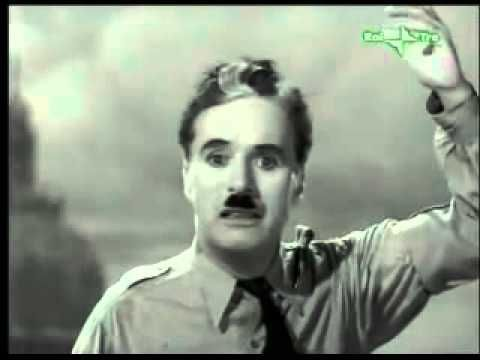 Charlie Chaplin - Discorso all'Umanità