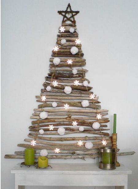 <p>One just got to love these simple and funky alternative Christmas tree ideas – a simple and very eco-looking wall-hung driftwood version,a cute combination of wall-mounted display shelves with presents accompanied by a pile of presents on the bottom. Or this simple, wooden candelabra, which warmly shimmers light into the …</p>