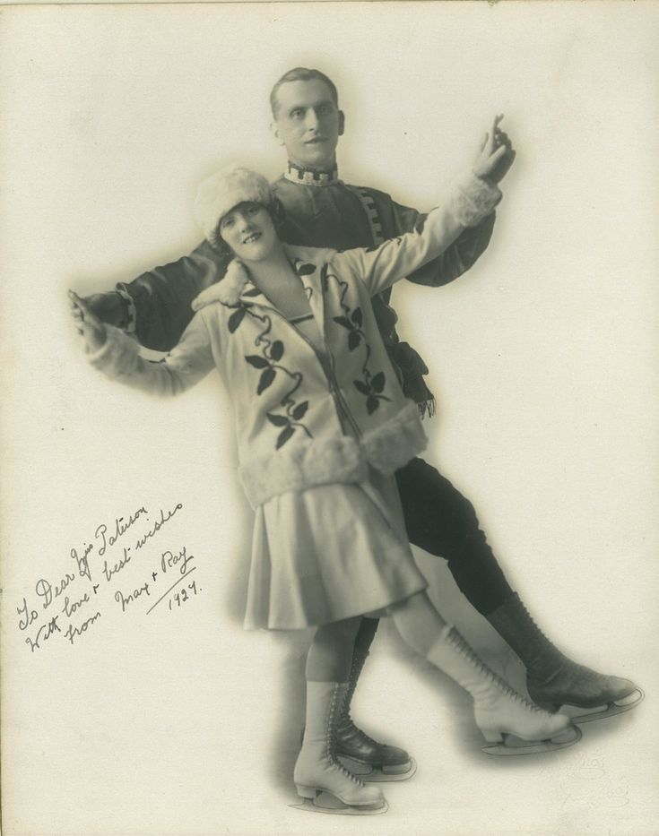 Ice Skaters, May and Ray, Sydney, 1927 / photographer Grace Bros. Ltd.