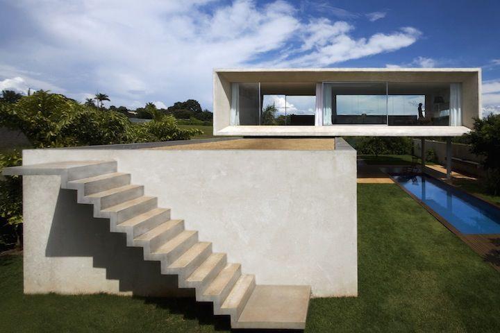 casa osler, brasília, by architect Marcio Kogan.