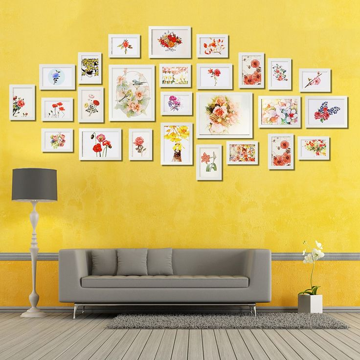 Luxury White 26PCS Photo Frame Picture Wall Mounted Wood Photo Picture Frame Wall Collage Home Kids Bedroom Office Decor Set-in Frame from Home & Garden on Aliexpress.com | Alibaba Group