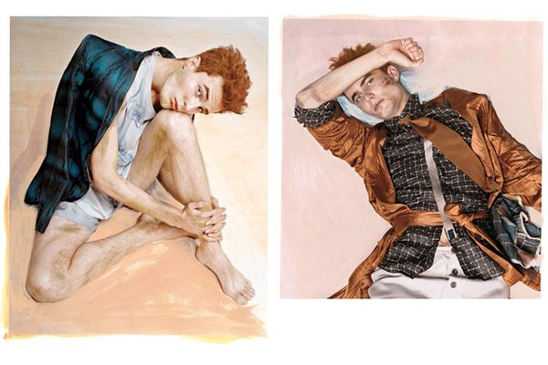 Egon Schiele fashion editorial. T Magazine. Simply fantastic!