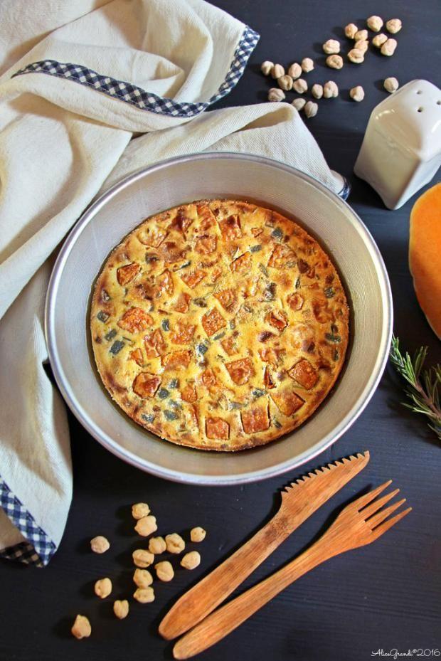 Farinata di ceci alle verdure - Cucina Mancina - Le ricette mancine