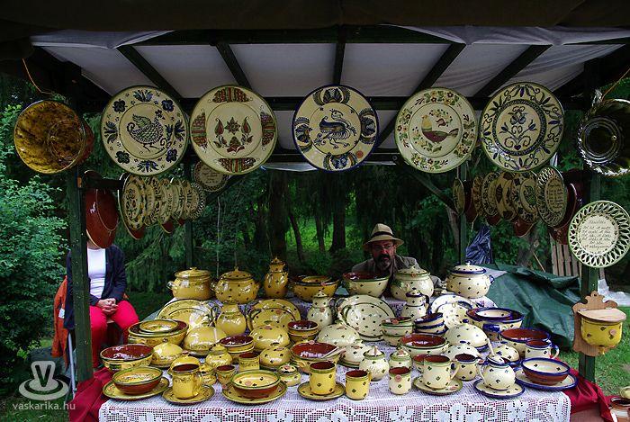 Magyarszombatfa, Hungary - pottery