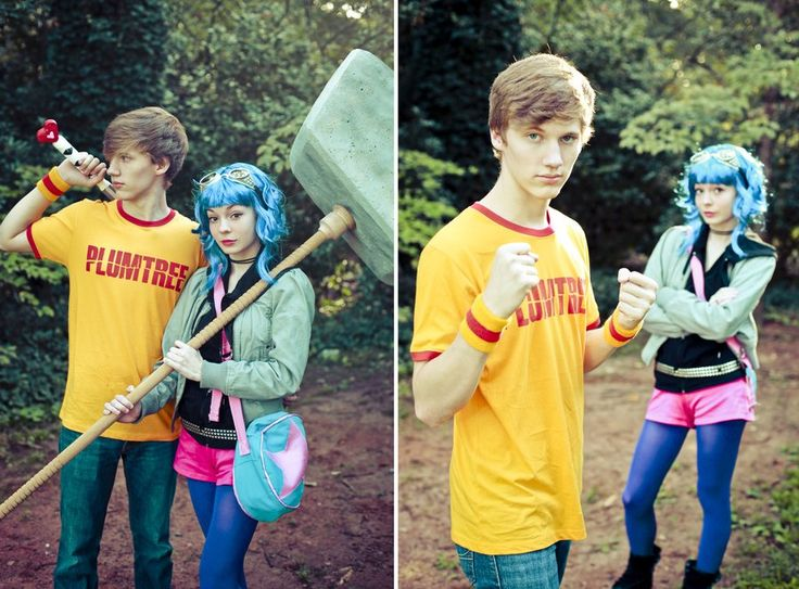 Scott Pilgrim and Ramona Flowers  sc 1 st  Pinterest & 913 best Cosplay Shit images on Pinterest | Designing clothes Dress ...
