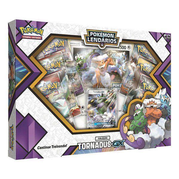 Pokemon Tcg Box Pokemon Lendarios Forcas Da Natureza Tornadus Gx Pokemon Rare Pokemon Cards Pokemon Cards