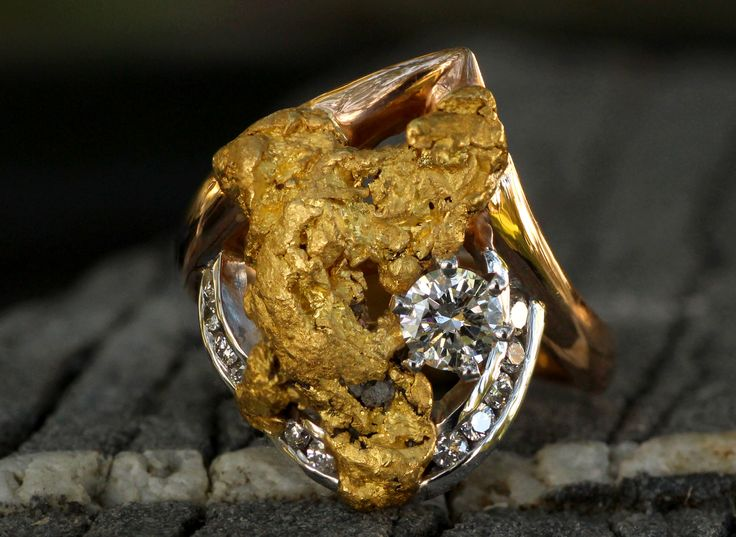 138 best Gold Nugget Jewelry images on Pinterest Number Gold