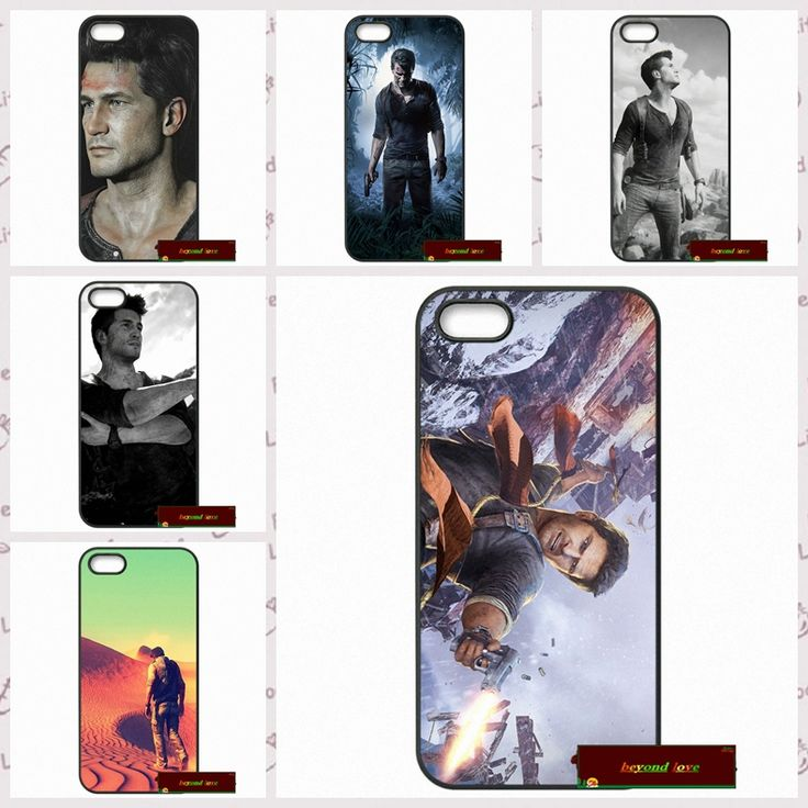 Uncharted 4 Nathan Drake Cover case for iphone 4 4s 5 5s 5c 6 6s plus samsung galaxy S3 S4 mini S5 S6 Note 2 3 4  S0358