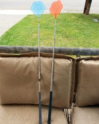 Golf Club Fly Swatters made from recycled golf clubs. Thanks for the great pin [PIN _AUTHOR_USERNAME]