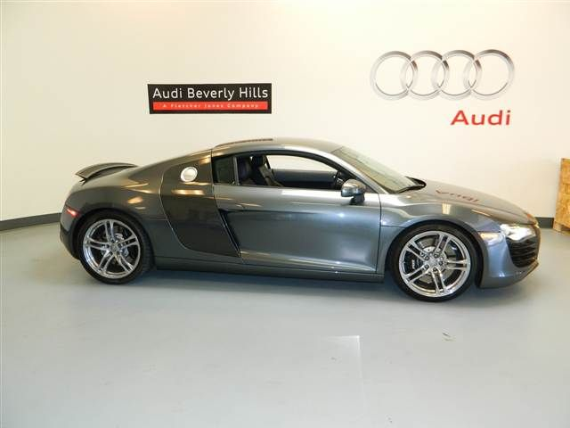 2009 Gray Audi R8 2009 http://www.iseecars.com/used-cars/used-audi-for-sale