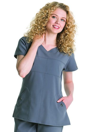 Grey's Anatomy Signature Women's V-Neck Style # 2120      Extreme softness with a twist of fashion!     Featuring detailed stitching and with a design you will not find with any other scrub top.     Fashion front pockets     Junior Fit     arclux with stretch with 4 way stretch     Available in sizes XS-3XL     71% Polyester/24% Rayon/5% Spandex