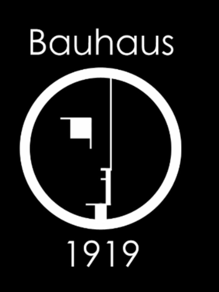 Pictures and designs associated with, or inspired by, the Bauhaus and its principal members, activities and output.