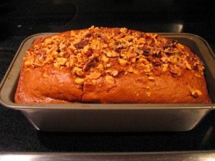 Weight Watchers Apple-Spiked Pumpkin Bread recipe – 1 point