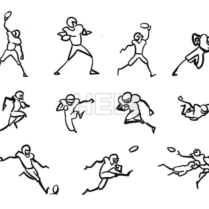 Best 25+ Football player drawing ideas only on Pinterest
