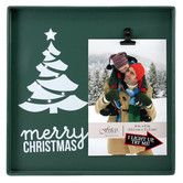 Found it at AllModern - Snapshots Merry Christmas Picture Frame