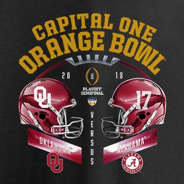 Alabama Crimson Tide vs. Oklahoma Sooners Fanatics Branded ...