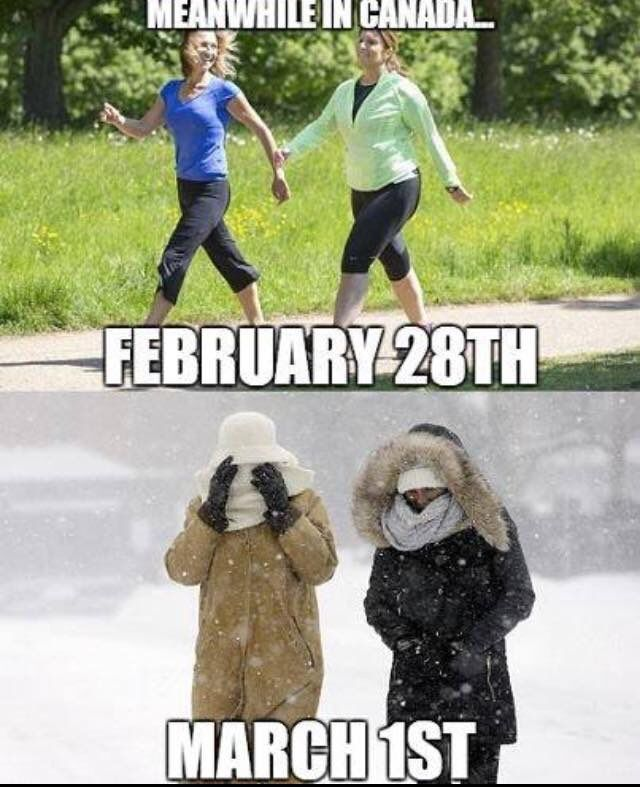 Meanwhile In Canada On Twitter Never A Dull Moment With Canadian Weather Meanwhileincanada Meanwhile In Canada Canada Meanwhile In