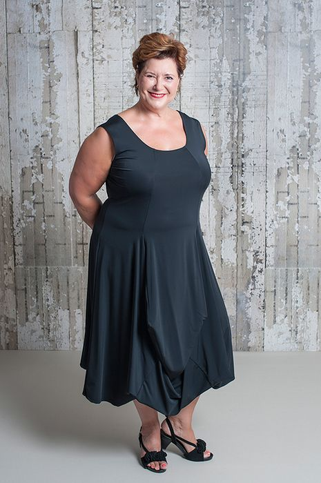 dress in black for a size up by Gracy
