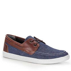 Sapato Dockside Masculino West Coast - Jeans