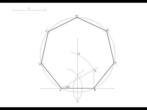 División de un segmento en partes iguales (teorema de Tales) - YouTube
