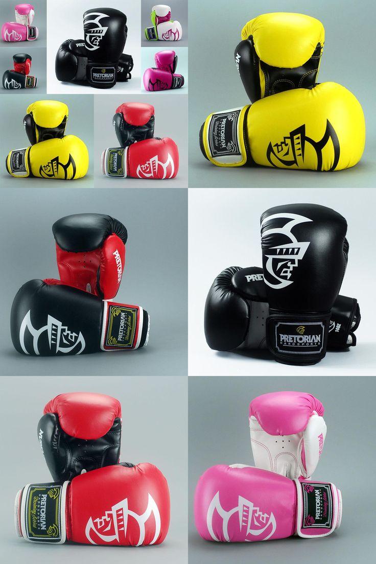 [Visit to Buy] 10/12/14/16oz Pretorian Grant Boxing Gloves MMA Gear Taekwondo fight Kick mitts glove Muay Thai Karate Training equipment #Advertisement