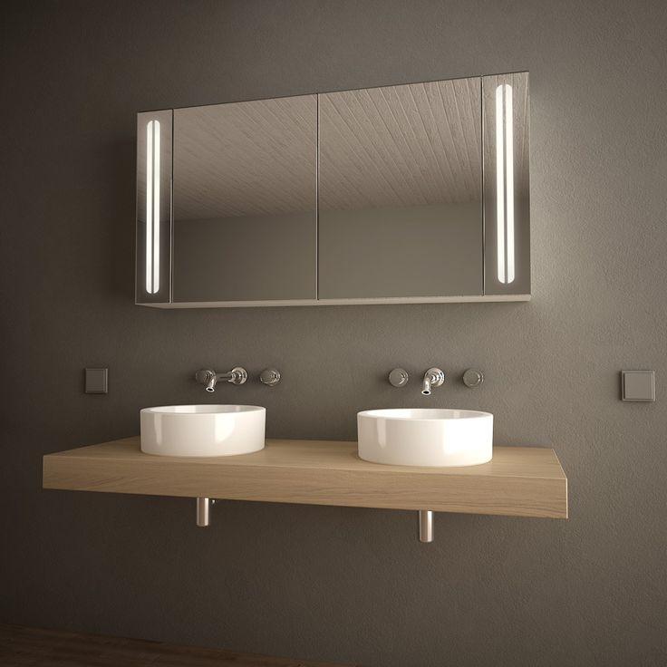 Die besten 25+ Spiegelschränke fürs bad Ideen auf Pinterest - badezimmer spiegelschrank günstig