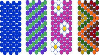 Weave Design INFORMATION ON DESIGNING PATTERNS WITH SEED BEADS AND CONVERTING STITCHES.