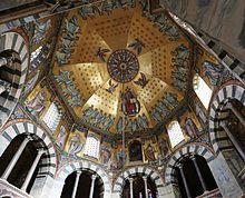 Cappella Palatina di Aquisgrana - la volta - Wikipedia