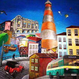Val-paraíso... mi puerto bello: Murales de Valparaíso: El Plan