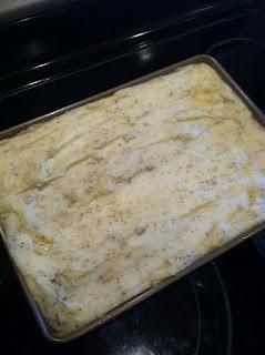 Twiced Baked Mashed Potatoes