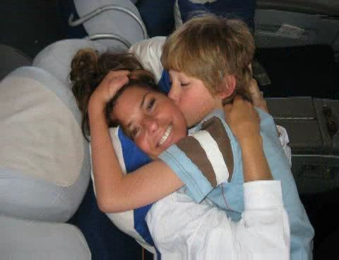 Shania Twain and son eja d elgleno