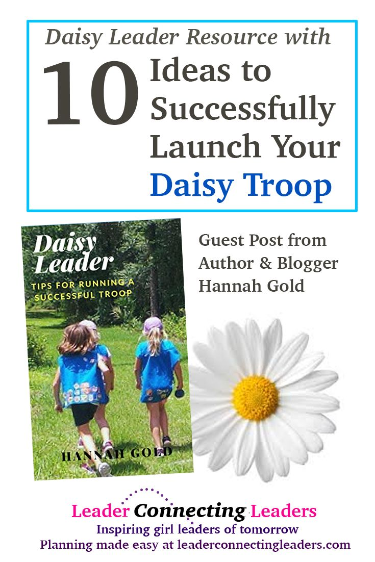 10 Ideas to Successfully Launch Your Daisy Troop a…