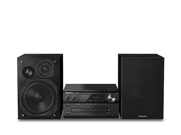 Starker Klangkünstler: Das Panasonic Micro HiFi System SC-PMX74 ist mit 120 Watt, hochwertigen Lautsprechern und DAB+ ein echtes Kraftpaket in High Res.