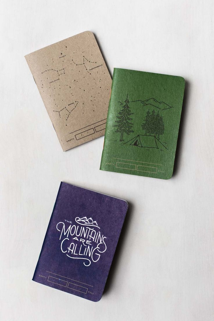 Adventure Bound Notebooks (3 Pack) | United By Blue