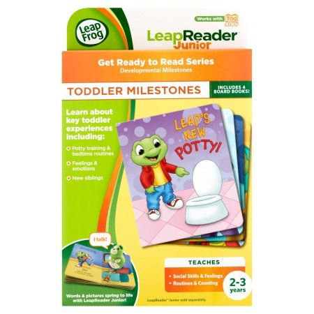 LeapFrog LeapReader Junior: Ready to Read Book Set (works ...