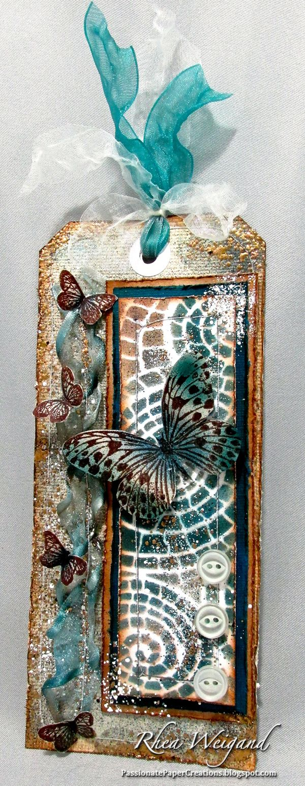 Passionate Paper Creations: Stampendous and Dreamweaver Stencils