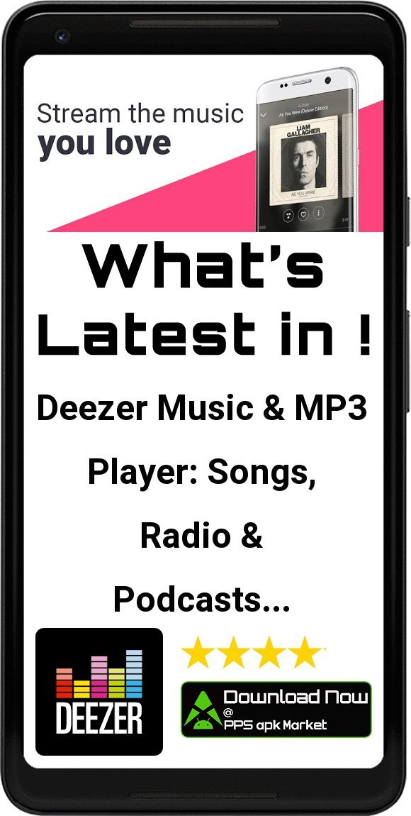 Deezer Music & MP3 Player: Songs, Radio & Podcasts App