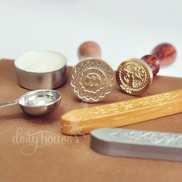 Wax Seal Candles & Customized Wax Seal Stamps
