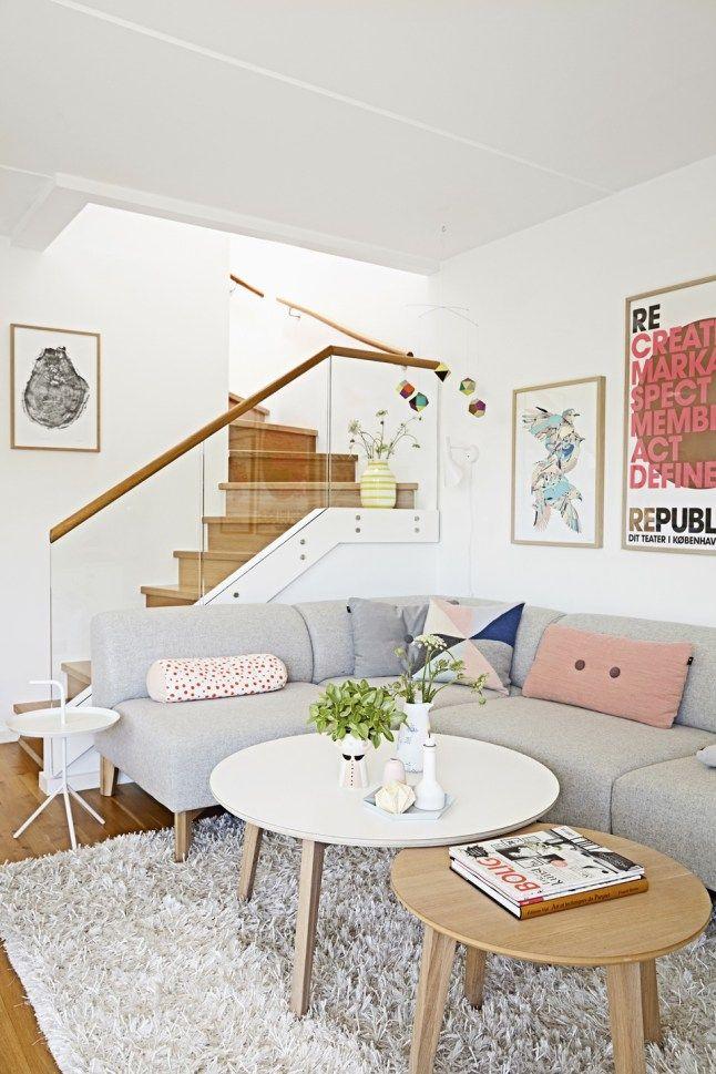 Loft made of pastel colors. #Loft #Decor