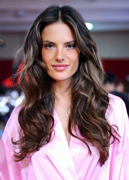 Alessandra Ambrosio Hair