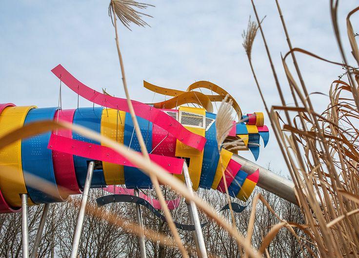 Le nouveau dragon de la Villette conçu par l'architecte-paysagiste Ursula Kurz - Flickr