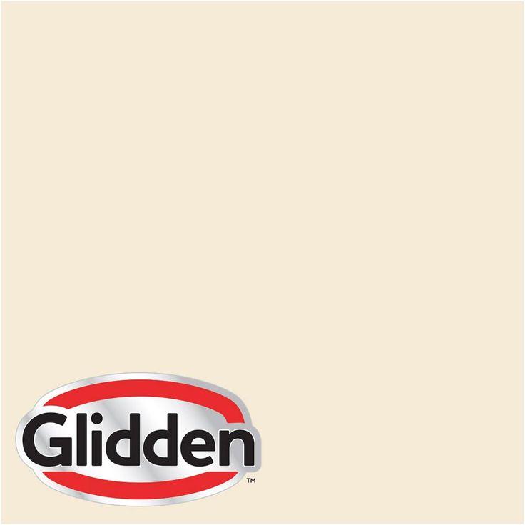 glidden premium 8 oz hdgy09u shell white rm flat on home depot paint visualizer id=46335