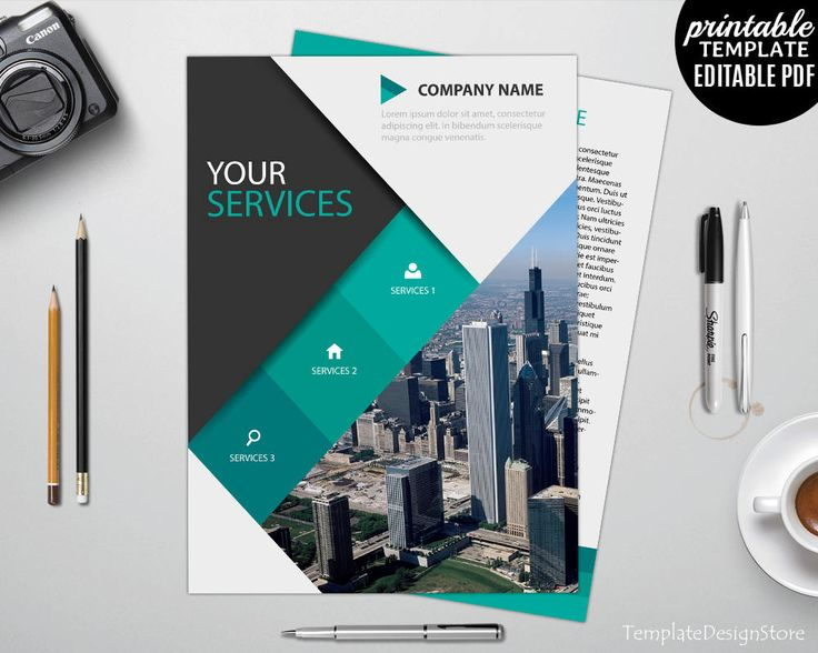 7 Best Brochure Template Images On Pinterest Brochure Template