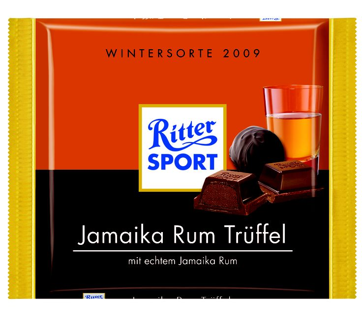 RITTER SPORT Jamaika Rum Trüffel (2009)