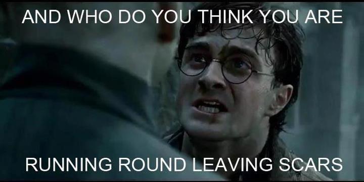 HAHA yes! Harry potter