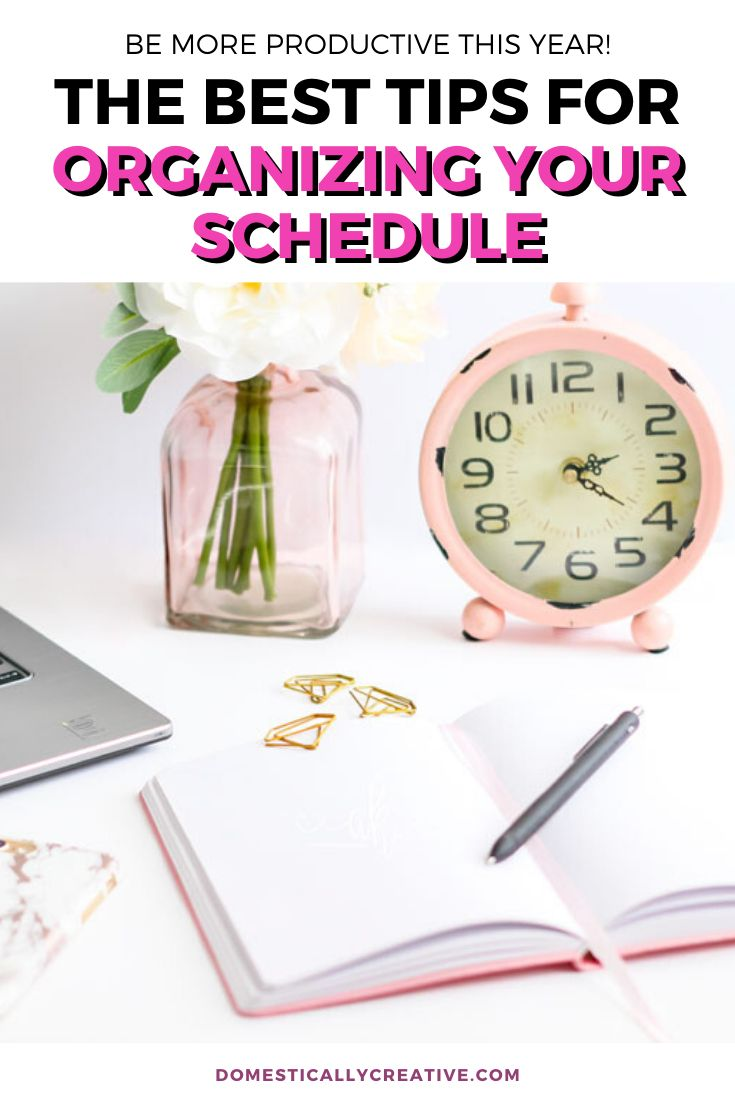 Learn how to organize your schedule to be more productive every day with these easy tips. Stay focused and on track to g…