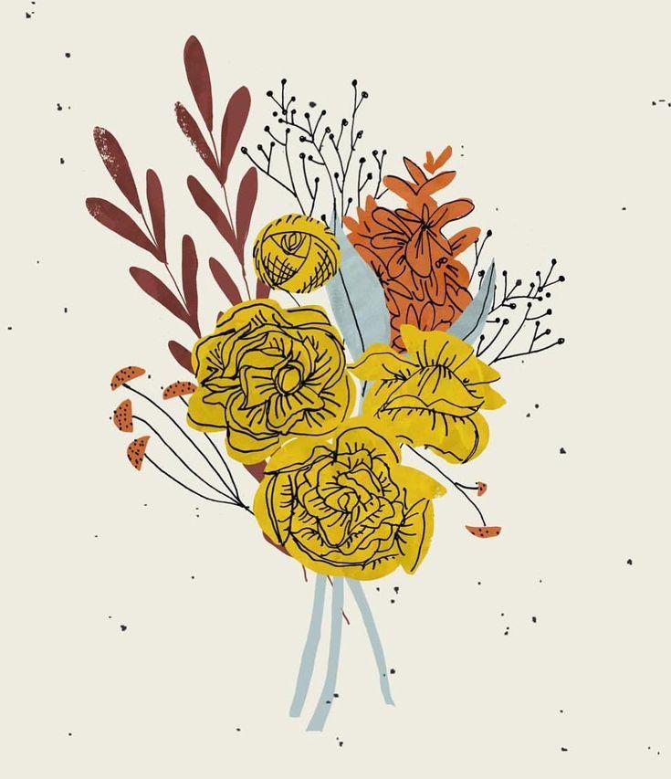 559 vind-ik-leuks, 6 reacties - Botanical Line Drawing (@botanicallinedrawing) op Instagram: ': @dylanmierzwinski . . . #botanicalillustration #botanicallinedrawing #bouquet…'