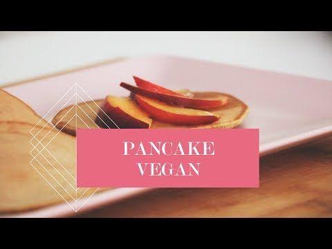 PANCAKE VEGAN Senza latte, senza uova, senza burro. Una ricetta incredibilmente facile e veloce, in soli 5 minuti!