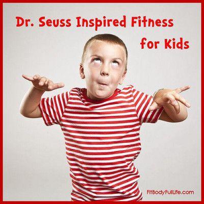 Dr. Seuss Inspired Fitness for Kids #fitness #Seuss #preschool